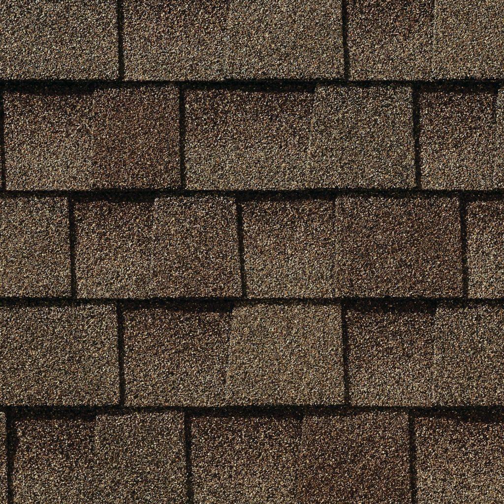 brown architectural shingles