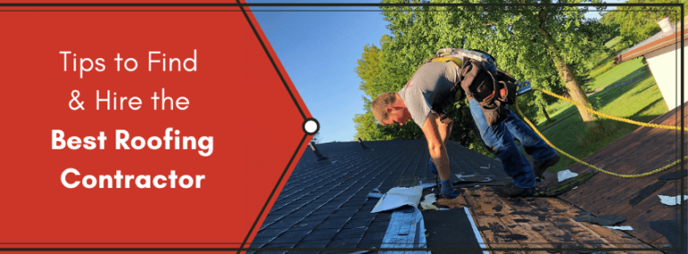 Tips to find and hire the best roofing contractor