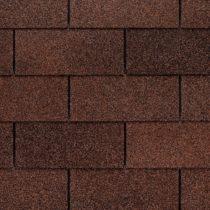 close up of 3-tab asphalt shingles