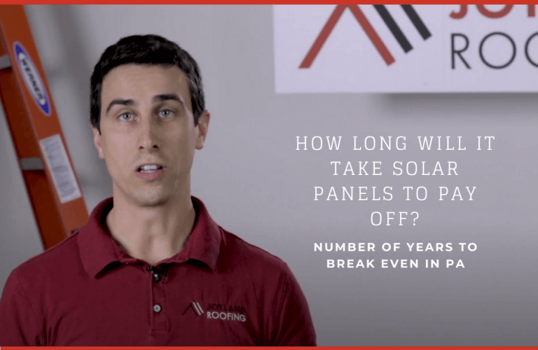 How long will it take solar panels to pay off? Number of years to break even in PA