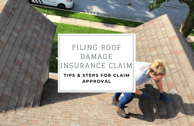 Filing roof damage insurance claim- tips and steps for claim approval